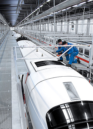 Purpose-built solutions for rolling stock maintenance