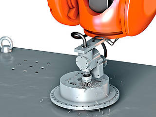 Individual solutions for machining with robots