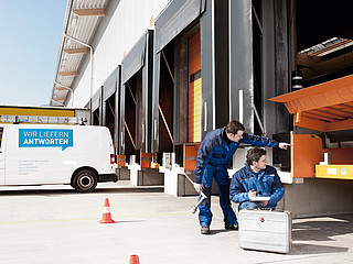 Maintenance, testing and repair of loading technology