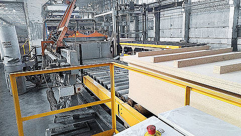automated a new laminating line at Swisspan