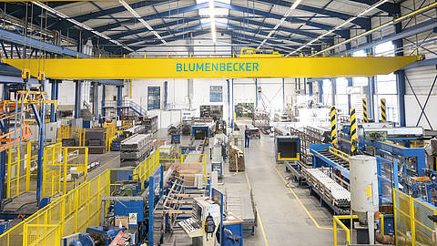 Blumenbecker acquires Hamm crane systems